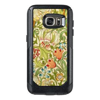 William Morris Golden Lily Vintage Pre-Raphaelite OtterBox Samsung Galaxy S7 Case