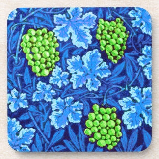 William Morris Grapevine, Cobalt Blue Coaster