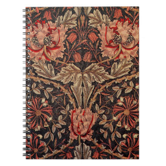 William Morris Honeysuckle Pattern Notebook