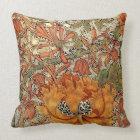 William Morris Honeysuckle Throw Pillow