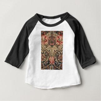 William Morris Honeysuckle Vintage Pattern Baby T-Shirt