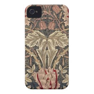 William Morris Honeysuckle Vintage Pattern iPhone 4 Covers