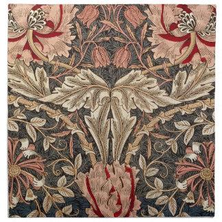 William Morris Honeysuckle Vintage Pattern Napkin