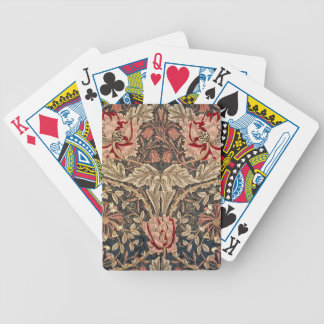 William Morris Honeysuckle Vintage Pattern Poker Deck