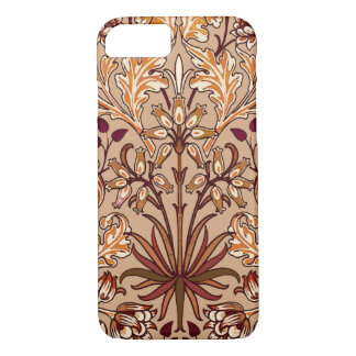 William Morris Hyacinth Print, Brown and Beige iPhone 8/7 Case