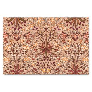 William Morris Hyacinth Print, Brown and Beige Tissue Paper