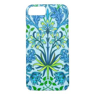 William Morris Hyacinth Print, Cerulean Blue Case-Mate iPhone Case