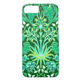 William Morris Hyacinth Print, Emerald Green iPhone 8/7 Case