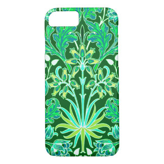 William Morris Hyacinth Print, Emerald Green iPhone 8/7 Case