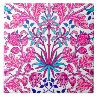 William Morris Hyacinth Print, Fuchsia Pink Ceramic Tiles