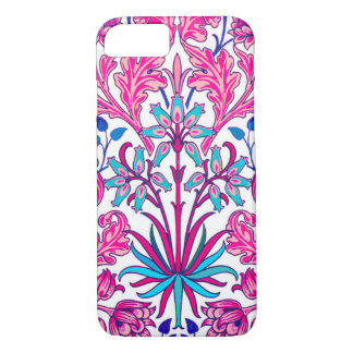 William Morris Hyacinth Print, Fuchsia Pink iPhone 8/7 Case