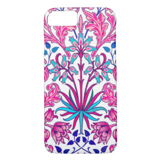 William Morris Hyacinth Print, Fuchsia Pink iPhone 8/7 Case
