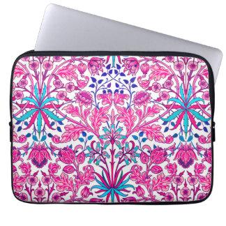 William Morris Hyacinth Print, Fuchsia Pink Laptop Sleeve