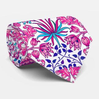 William Morris Hyacinth Print, Fuchsia Pink Tie