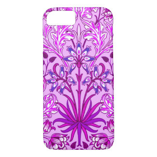 William Morris Hyacinth Print, Lavender and Violet iPhone 8/7 Case