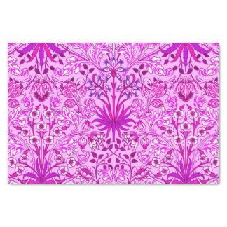 William Morris Hyacinth Print, Lavender and Violet Tissue Paper