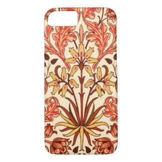 William Morris Hyacinth Print, Orange and Rust iPhone 7 Case