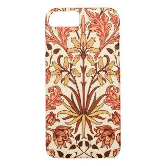 William Morris Hyacinth Print, Orange and Rust iPhone 8/7 Case