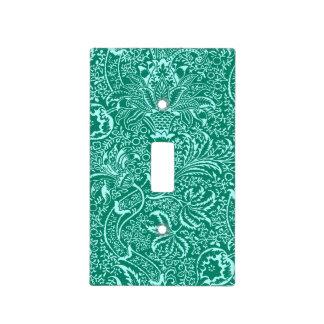 William Morris Indian, Turquoise and Light Aqua Light Switch Cover