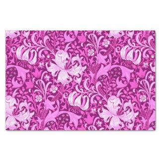 William Morris Iris and Lily, Amethyst Purple Tissue Paper