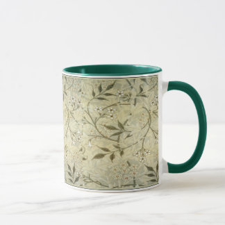 William Morris ~ Jasmine Blossoms & Leaves Mug