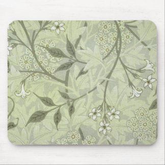 William Morris Jasmine Wallpaper Mouse Pad