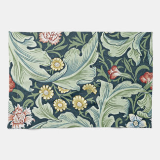 William Morris - Leicester vintage floral design Kitchen Towel