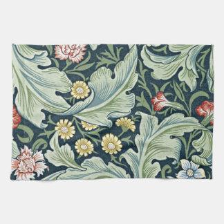 William Morris - Leicester vintage floral design Kitchen Towels