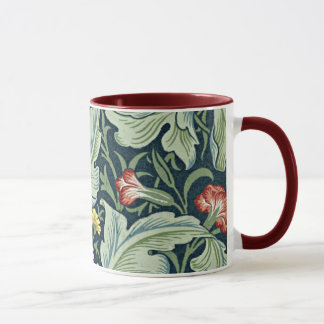 William Morris - Leicester vintage floral design Mug