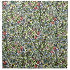 William Morris Lily Floral Chintz Pattern Napkin