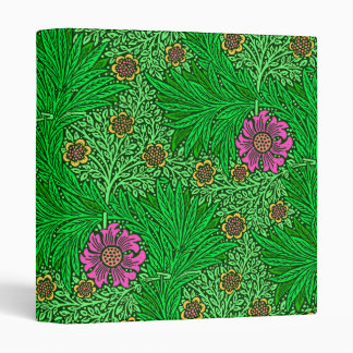 William Morris Marigold, Emerald Green & Fuchsia Binders
