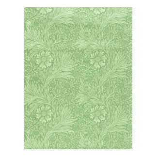 William Morris Marigold (Green) Postcard