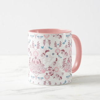 William Morris Mauve Mug