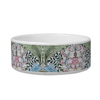William Morris Myrtle Pattern Dog Cat Pet Bowl