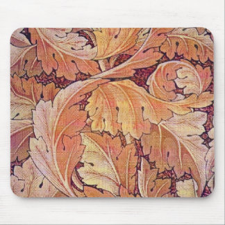 William Morris Orange Acanthus - Mousepad