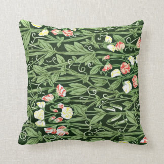 William Morris pattern, Sweetpea Throw Pillow