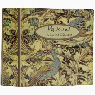 "William Morris Peacock 2"" Binder"