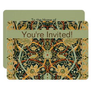William Morris Persian Carpet Art Print Custom Card