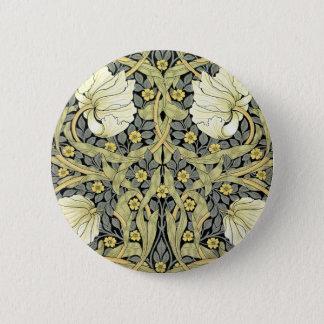 William Morris Pimpernel Art Floral Design 2 Inch Round Button
