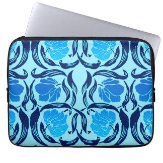 William Morris Pimpernel, Denim & Light Blue Laptop Sleeve