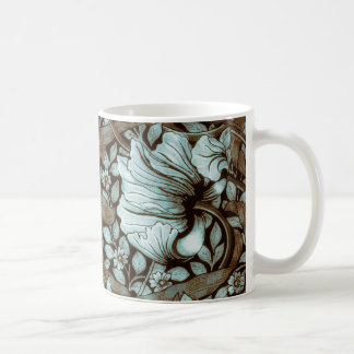 William Morris Pimpernel Vintage Floral Coffee Mug