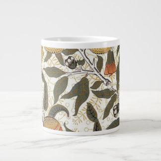 William Morris Pomegranate Giant Coffee Mug