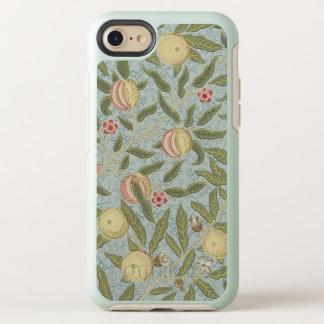 William Morris Pomegranate Pattern Blue Vintage OtterBox Symmetry iPhone 8/7 Case