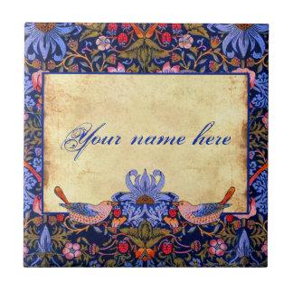 William Morris Pre-Raphaelite Customizable Tile