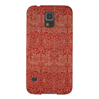 William Morris Red Curtain Pattern Phone Case