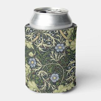 William Morris Seaweed Pattern Floral Vintage Art Can Cooler