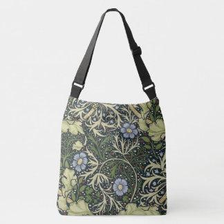 William Morris Seaweed Pattern Floral Vintage Art Crossbody Bag