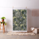 William Morris Seaweed Pattern Floral Vintage Art Fabric