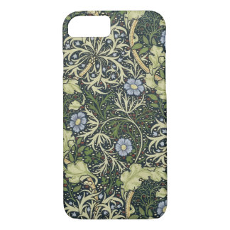 William Morris Seaweed Pattern Floral Vintage Art iPhone 8/7 Case