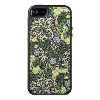 William Morris Seaweed Pattern Floral Vintage Art OtterBox iPhone 5/5s/SE Case